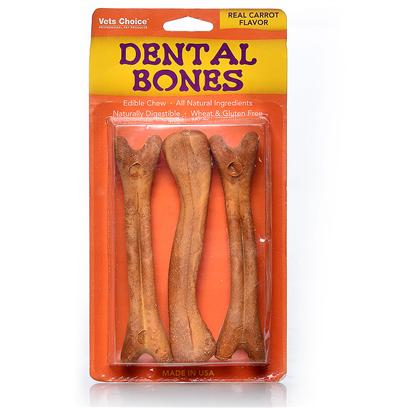 Health Extension Presents Health Extension Dental Bones Carrot Medium-6 Pack. Health Extension Dental Bones Carrot [20574]