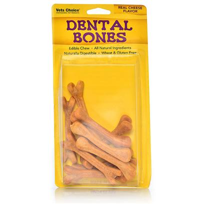 Dental Bones Dog Treats- Cheese Flavor