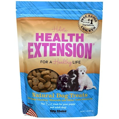 Health Extension Presents Health Extension Heart Shaped Treats 1lb Small-1lb. Health Extension Heart Shaped Treats 1lb [20585]