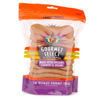 Nature's Animals Presents Nature's Animals Gourmet Select-all Natural Dog Biscuits with Organic Carrots and Grains Carrot Crunch-13oz. Organic Carrot Treats your Dog will Love these Tasty and Nutritious Treats Made with Wholesome Organic Ingredients! The Bone-Shaped Biscuits are High in Protein and Low in Fat, with Nutrient-Rich Carrots and Energy-Boosting Grains. The Organic Foods in these Treats were Grown without Herbicides, Pesticides, or Artificial Fertilizers, and no Chemical Additives or Preservatives were Used. YouLl Feel Good Giving your Dog Such a Smart, Delicious, and Nutritious Treat! ItS the Perfect Healthy Reward! [20608]