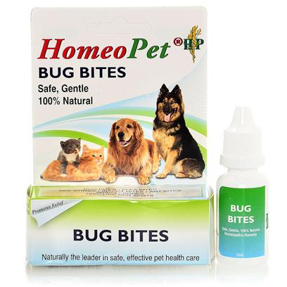 Homeopet Presents Homeopet Flea Bite Drops. Therapeutic Remedy for Itchy, Irritated Skin Caused by Flea, Bug and Insect Bites. [20714]