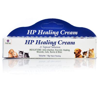 Homeopet Presents Homeopet Healing Cream 14gm Tube. A Homeopathic First Aid Cream that Seals in Moisture to Decrease Healing Time. Transfers Healing Effect over the Entire Wound. Safe Even if Licked Off. Natural Anti-Inflammatory. Creates a Protective Barrier. May be Used on Open or Bandaged Wounds. Proven Effective on Previously Non-Responsive Wounds. Patent Pending. [20715]