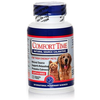 International Veterinary Presents Comfort Time 60ct. Comfort Time Naturaly Supports Calmness [20733]