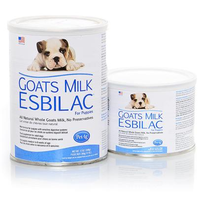 Buy Esbilac Puppy Milk products including Esbilac Puppy Milk Replacer Powder 12oz Can, Esbilac Puppy Milk Replacer Powder 28oz Can, Goat's Milk Esbilac Powder 12oz, Esbilac Puppy Milk Replacer Liquid 12oz Can, Goat's Milk Esbilac Powder 150gm, Esbilac Puppy Milk Replacer Liquid 8oz Can Category:Diet & Nutrition Price: from $2.99