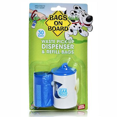 Buy Bags on Board Dispenser 30bag for Pets products including Bags on Board Dispenser 30bag Original, Bags on Board Dispenser 30bag Hydrant with 30, Bags on Board Bone Dispenser 30bag Black with 30, Bags on Board Bone Dispenser 30bag Blue with 30 Category:Feeders & Waterers Price: from $5.99