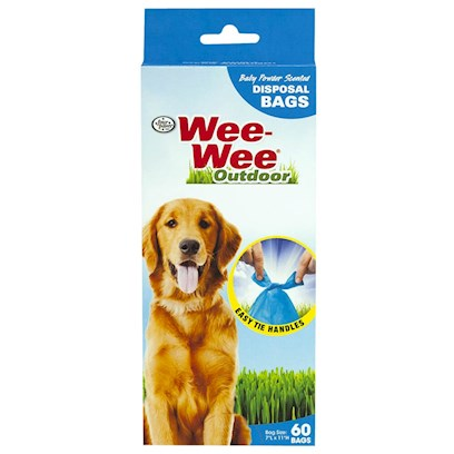 Four Paws Presents Doggie Doo Bags Biodegradable 60. The Four Paws Doggie Doo Dispenser is Convenient for Walks; the Adjustable Rubber Strap Attaches to any Leash, Collar or Belt. The Shatterproof Dispenser Holds 30 Biodegradable Bags that Release One-at-a-Time. Replacement Bags Sold Separately. [20830]