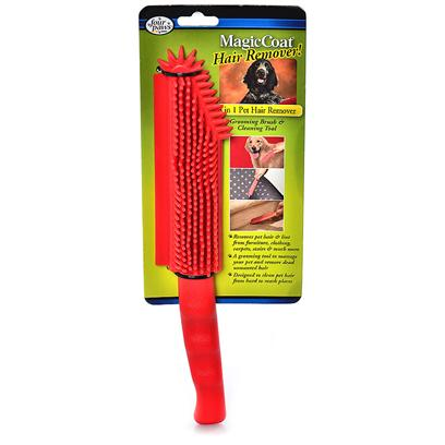 Four Paws Presents Fp 3 in 1 Pet Hair Remover. The 3 in 1 Pet Hair Remover is Designed as a Multi Purpose Dead Hair-Removing Tool. The Rubber Construction of the Brush Creates an Electro-Static Charge Creating a &quot;Magnetic&quot; Affect Collecting Loose Hair. The 3 in 1 Pet Hair Remover is Perfect for Removing Loose, Unwanted Hair on Furniture, Clothing, [20864]