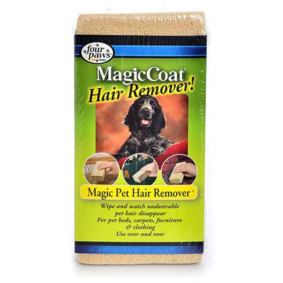 Four Paws Presents Fp Magic Pet Hair Remover. Magic Pet Hair Remover Helps Remove Hair from Pet Beds, Carpets, Furniture, Clothing and More. The Magic Pet Hair Remover can be Easily Washed with Soap and Water. Display of 12. [20867]