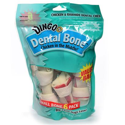 Dingo Brand Presents Dingo Small Dental Value Bag 6 Pack. Small Dental Value Bag 6 Pack [21218]