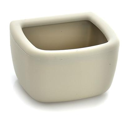 "Marchioro Usa Presents Marchioro no-Spill Bowl for Clippers Large. Is an Optional Accessory for all Carriers. Simply Clips in the Door and has a Lip for no-Spills. Beige Color only 6.3"" X 4.8"" X 2.5"" 24.8 Oz. [21270]"