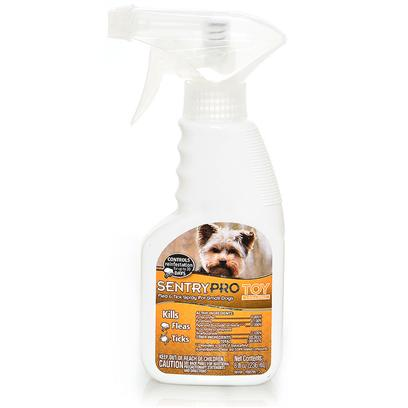 Sergeants Presents Sentry Pro Flea and Tick Spray for Toy Small Breeds 8oz Se Sntry F & T Spry Brd. Sentry Pro Toy and Small Breed Spray Offers Gentle Protection and is Uniquely Formulated for Toy Breed Dogs. Kills Fleas, Ticks, and Flea Eggs. Prevents Re-Infestation for Up to 30 Days and has a Convenient 8 Oz Trigger Spray Bottle for Easy Application. [21312]