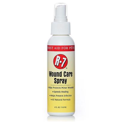 Gimborn Presents R-7 Wound Care Spray 4oz Gimb. Designed to Naturally Help Protect Minor Cuts and Wounds while Helping to Speed the Healing Process. Do not Use on Cats [21366]