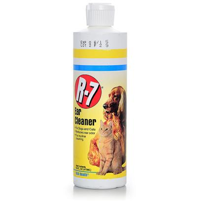 Rich Health Presents R-7 Professional Ear Cleaner 16oz R.H R7. Use for Routine Cleaning Around the Ear Canal to Help Prevent Ear Problems. [21383]