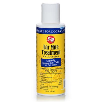 Rich Health Presents R-7 Professional Ear Mite Treatment 4oz R.H R7. Treatment Effectively Controls Ear Mites [21384]
