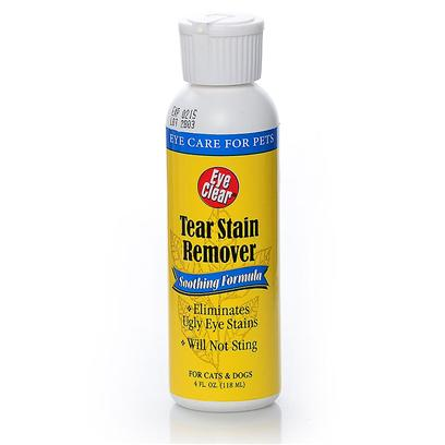 Rich Health Presents R-7 Eye Clear Tear Stain Remover R.H R7 4oz. Cleanse your PetS Eyes while Removing Debris and Tear Stains with this Soothing no-Sting Formula. Made without Harmful Bleach, R-7 Eye Clear has been a Top Choice for Breeders Since 1961, and itS Ideal for Use on Both Cats and Dogs. [21386]