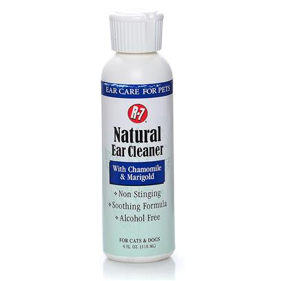 Rich Health Presents R-7 Professional Natural Ear 4oz R.H R7 Cleaner. Leaves a Soothing, Water Resistant Shield Inside Pets Ears After Cleaning. Helps Prevent Debris Buildup. [21390]