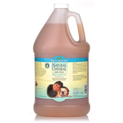 Bio Groom Presents Natural Oatmeal Creme Rinse-12oz. This all Natural Soap Free Cleansing Treatment Helps Relieve Dry Irritated Skin. This Exceptional Shampoo Cleans the Skin and Coat without Harsh Irritating Chemicals. Special Conditioners Moisturize and Soothe the Skin on Dogs and Cats. [21516]