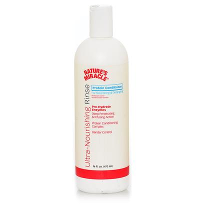 Nature's Miracle Presents Nature's Miracle Protein Shampoo 16oz. Nature's Miracle Ultra-Nourishing Rinse Protein Conditioner Provides Intense Moisture while Ending Snarls, Tangles and Mats. Our Pro-Lift Enzyme Action is Derived from Nature's Miracle Advanced Stain &amp; Odor Technology. Provides Unique Odor &amp; Dirt Lifting Action. Features for Intense Moisturizing  Pro-Lift Enzyme Action  Deep Dirt Grabbing &amp; Odor Lifting Action  Protein Conditioning Complex  Dander Control 16 Oz Fresh Scent [21528]