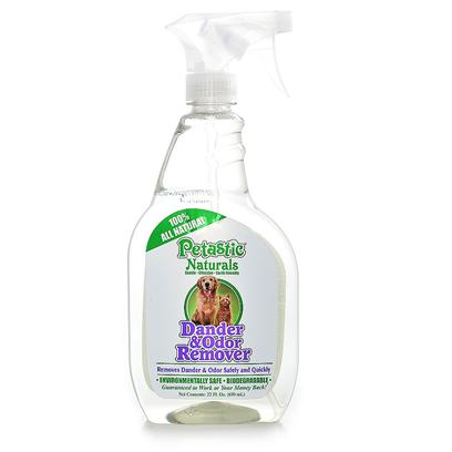Venus Laboratories Presents Petastic Naturals Dander and Odor Remover 22oz Venus Dndr Stn & Odr Rmvr. Uses Natural Enzymes to Eliminate Dander and Odors Caused by Pets. Gentle, Non-Toxic & Non-Flammable. 22 Oz. [21583]