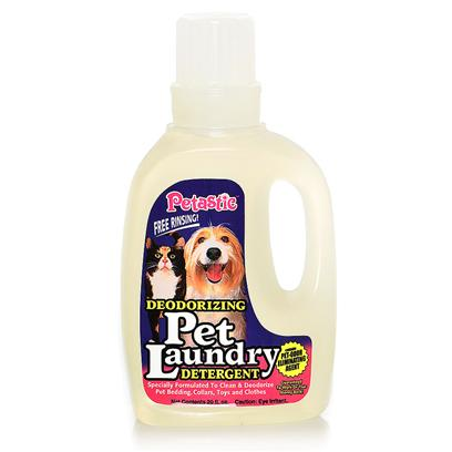 Venus Laboratories Presents Petastic Deodorizing Pet Laundry Detergent Venus Detrgnt 20oz. Petastic Deodorizing Pet Laundry Detergent Contains a Unique Formula Specifically Designed to Clean and Deodorize Pet Bedding, Toys, Clothes, and Towels. Free Rinsing Formula Won't Leave Residues Highly Concentrated Formula Means you Use Less Saving you Money. 50 Oz. [21588]