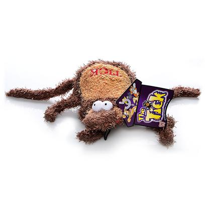 Multipet Presents Multipet Plush Tick Toy 12'. The Perfect Revenge for your Canine Companions, not to Mention Tons of Fun! Your Dog will have a Blast Biting Back! Squeakers just Add to the Fun as your Pet Swats the Tick Around for Hours. [21629]
