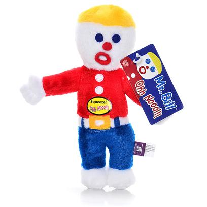 "Multipet Presents Multipet Snl Character Mr Bill Plush Toy. The Popular Saturday Night Live Cartoon Figure is Now Available as a Plush Dog Toy! This Classic Character is Known for his Famous ""Ohh Nooo!!!"" Yell. Squeeze Mr.Bill and Hear it for Yourself! [21630]"