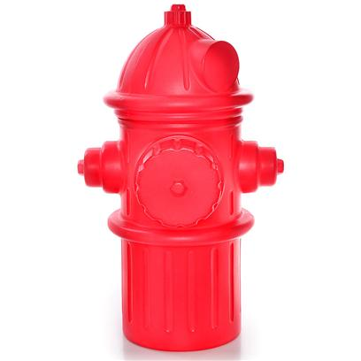 Huron/Hueter Toledo Presents Fireplug Dog Toy and Storage Bin Red Fire Plug Chest-Large. Fun and Fiery Storage Bring some Color and Fun into your Home with this Model Fire Plug thatS Perfect for Storing Treats, Toys, Waste Bags, Grooming Products, or Anything Else that Fits Inside. YouLl Love the Durability and how Easy it is to Clean, and your Dog will Love Seeing a Familiar Friend Around the House! [21673]