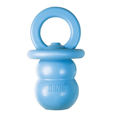 Kong Company Presents Puppy Kong Binkie Small (Sm) Kp37. Puppy Kong Binkie Promotes Proper Chewing Behavior. Specially Designed for the Teething Puppy, Puppy Kong Binkie Helps Soothe Sore Gums. [21737]