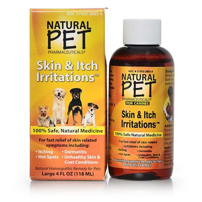 Tomlyn Presents Natural Pet Skin and Itch Irritations 4oz. Bottle should Last Up to 36 Days, but Results should be Visible Within a Week. [21922]