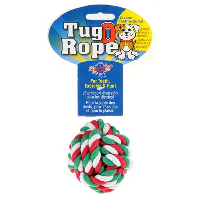 Blue Ribbon Presents Rope Ball Br 2.5'. Rope Ball [21934]