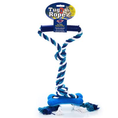Blue Ribbon Presents Rope Handle Tug with Star Br Toy Bone. Rope Handle Tug with Star [21947]