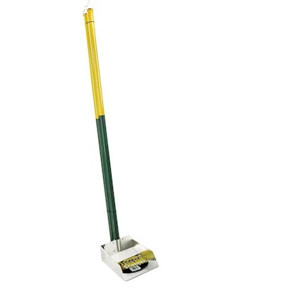 "Four Paws Presents Pooper Scooper-Spade Set Small Fp Scooper Spade (Sm). Great for Picking Up Animal Waste Around the Yard. These Rake Sets are Extremely Durable and Made with a Stainless Steel Collection Base that Wont Rust. 37"" Long. Spade Set, Small [21957]"