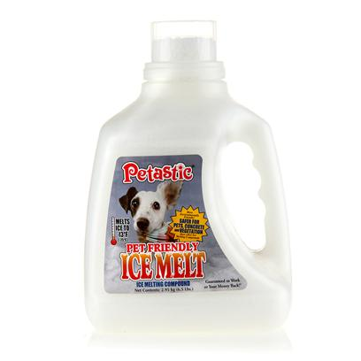 Venus Laboratories Presents Petastic Pet Friendly Ice Melt Venus 6.5 Lbs. Safe for your Pets! Safe for your Yard! And Less Irritating to your Skin than Other Ice Melt Products. Melts Ice Even in Temperatures of 13 Degrees F (-25 Degrees C). Less Toxic than Baking Soda and Table Salt*. 26 Times Less Concrete Spalling (Chipping, Fragmenting, or Flaking)**. Petastic Ice Melt Comes in a Convenient Pellet Form and Works Fast. As a Safety Prevention, Sprinkle Petastic Ice Melt on your Walkways and Driveways Before Snow or Ice Accumulates to Prevent Ice from Forming. This Product can also be Used on Ice and Snow to Melt. [21970]