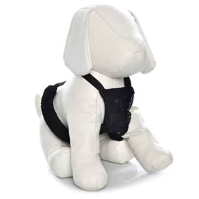 "Sporn Pet Presents Sporn Non-Pull Mesh Harness-Black Small. You're Enjoying your Nightly Walk with Spot, and he 'Spots' a Squirrel. Suddenly, your Shoulder is Getting Pulled out of its Socket and You're Trying not to Pull the Leash Too Tightly. Spot Needs to Breathe! The Non-Pull Mesh Harness Works to Instantly Stop your Dog from Pulling when Leashed. Sporn'S Patented System ""Gives,"" with your Dog'S Natural Movements, Achieving Both Comfort and Control with Elastic Webbing. The High Quality Nylon Harness Runs through Breathable Mesh Material that is Strong and Durable, but not Uncomfortable on your Dog'S Body. Sherpa Sleeves Run Beneath your Dog'S Front Legs for Added Comfort and Stability, Encompassing Restraint Cords that Eventually Meet the Cord Lock. The Cord Lock Keeps the Restraint Cords in Place, which Attach to Nickel-Plated Rings. All these Features Come Together to Form a Glove-Like Fit for your Dog, while Hindering their Ability to Pull on their Leash. [22010]"
