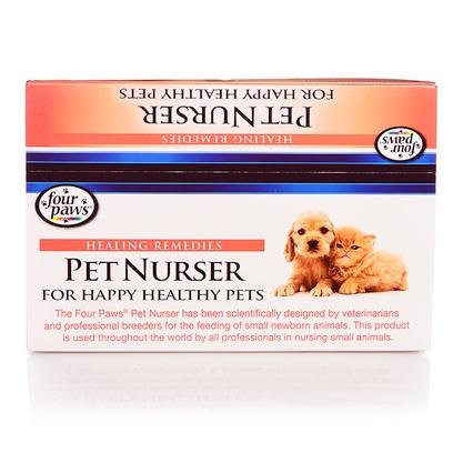 Four Paws Presents Nurser Bottles Counter Box 2oz-24piece. Four Paws Pet Nurser has been Scientifically Designed by Veterinarians and Professional Breeders for all Pet Feeding Puppies, Kittens, Hamsters, Gerbils, Monkeys and Many Other Pets 1 Dz 4 Oz [22098]
