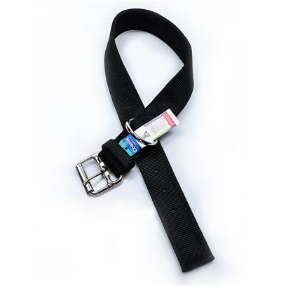 Buy Nylon Double Collar - Black products including Nylon Double Layer Collar Black 1.5' X 20', Nylon Double Layer Collar Black 1.5' X 26', Nylon Double Layer Collar Black 1.5' X 28' Category:Leashes Price: from $8.99