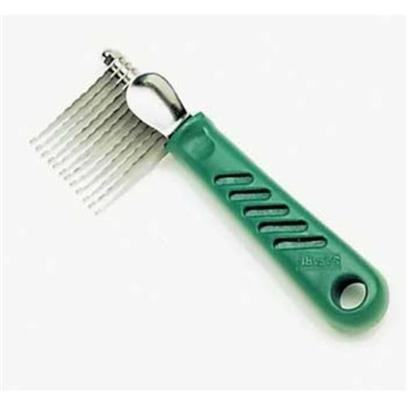 Safari Presents Safari de-Matting Comb Dematting. The Safari de-Matting Comb will Help Remove Mats and Tangles from your Pet's Coat. The Stainless Steel, Serrated Blades will Comb out Most Tangles. The de-Matting Comb can be Used on Most Medium to Longhaired Pets. It is Especially Helpful on Coarse or Long, Matted Coats. [22370]