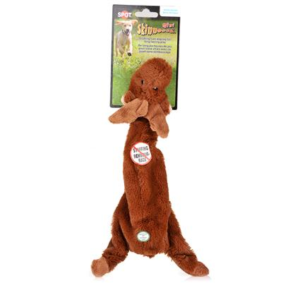 Ethical Presents Skinneeez Plush Arctic Asst Mini 15' Spot Plsh Arct Min. Bring out your Dogs Natural Hunting Instinct. Dogs will Enjoy Hours of Entertainment Flip Flopping our Stuffing Free Skinneez Toys. All Skinneez Toys have 2 Squeakers. 1 in the Head and 1 in the Tail for Double the Fun. [22493]
