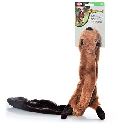 Ethical Presents Skinneeez Plush Beaver 23' Spot Plsh. Bring out your Dogs Natural Hunting Instinct. Dogs will Enjoy Hours of Entertainment Flip Flopping our Stuffing Free Skinneez Toys. All Skinneez Toys have 2 Squeakers. 1 in the Head and 1 in the Tail for Double the Fun. [22496]