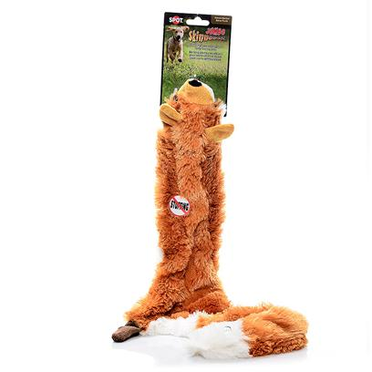 "Ethical Presents Skinneez Jumbo-36' Spot Jmb Asstd 36'. Bring out your Dogs Natural Hunting Instinct with this Jumbo, Unstuffed Skinneez Toy. Surprise your Pup with the Most Popular Original Skinneez Style- you will Receive 1 Unit, a Fox, Raccoon or Skunk. Multi 36"" [22512]"