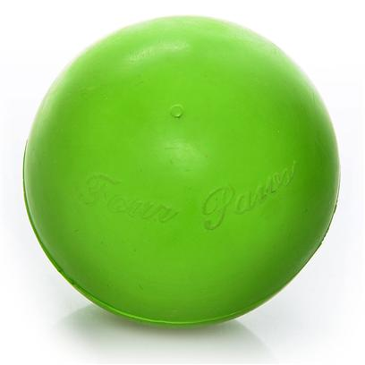 "Four Paws Presents Rough & Rugged Rubber Solid Ball Fp Toy 1.62'. Part of a Complete Line of Unique and Traditional Style Toys Made with the Highest Grade of Rubber and Filled with Unique Polymers to Give Extra Bounce. Available in 4 Sizes. 2 3/4"" [22534]"
