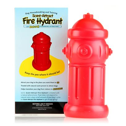 This is the Spot Presents Scent Attract Fire Hydrant Scent-Attract. Scent Attract Fire Hydrant [22595]