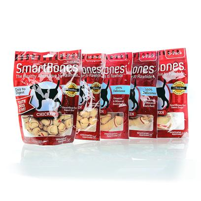 Buy Chicken Rawhide Bones products including Smart Bone Chicken Sb Large 1pk, Smart Bone Chicken Sb Small 1pk, Smart Bone Chicken Sb Large 3pk, Smart Bone Chicken Sb Medium 1pk, Smart Bone Chicken Sb Mini 24pk, Smart Bone Chicken Sb Mini 8pk, Smart Bone Chicken Sb Small 6pk, Smart Bone Chicken Sb Medium 4pk, Porky Bone Dingo Mini 7pk Category:Rawhide Price: from $2.99