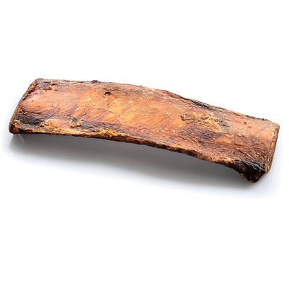 Smokehouse Presents Smokehouse Smoked Rib Bone Small (Sm) 6' Bulk. 6&quot; Bulk - Shrink Wrapped with Label 100% Natural, Beef Rib Bone Slow Roasted to Perfection. Meat and Cartilage is Left on the Bone for Dog to Enjoy. Great for Keeping Teeth Clean and Healthy. Made in the Usa in U.S.D.A. Inspected Meat Plants. [22700]