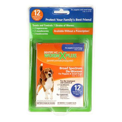 Francodex Laboratories Presents Worm X Plus 4 Small Dog 12 Tablets Fran Pls (Sm) Dg Tabs. Sentry Hc Worm X Plus Broad Spectrum Wormer Treats and Controls 7 Strains of Worms 2 Tapeworms, 2 Round Worms and Three Hookworms. Comes in a Easy and Convenient Chewable. Small Dog 12 Pc [22755]