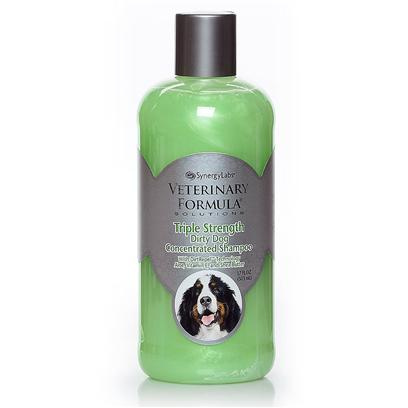 Synergy Labs Presents Ufs Triple Strength Dirty Dog Concentrated Shampoo Sny Vfs Dirtydog Conc. Dirty Dog Concentrated Shampoo™ Contains 3 X's More Active Cleansing Ingredients than Competing Brands. Cleans and Deodorizes the Dirtiest and Smelliest Pets. Unique Veterinary Formula Dirtrepel™ Formula Utilizes Ionic Technology to Keep Pet's Coat Clean Longer in Addition to a Pleasing Green Apple and White Tea Scent with Fragrance Extenders. Enriched with Wheat Protein, Shea Oil, Aloe Vera and Vitamin E to Moisturize Skin and Conditions Coat. Will not Strip Natural Coat and Skin Oils. [22813]