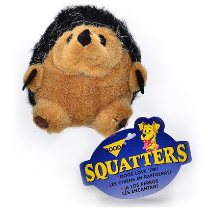 Petmate Presents Squatters Hedgehog-Medium Booda Hedgehog Medium (Med). Long Lasting Squeaking Sound Built in Proven Winners Made from Washable, Synthetic Plush Fabrics Comes in Popular Sizes for all Dogs. [22870]