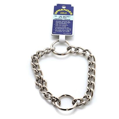 Coastal Presents Steel Throw Chain Retriever Trainer (Ger Safari. Sophisticated Production Techniques, Consistent Quality Control, Superb Craftsmanship and the Highest Quality Raw Materials Make Herm. Sprenger German Chain Products Superior. Attracts Dog's Attention when Thrown on the Ground. Used by Trainers. [22999]