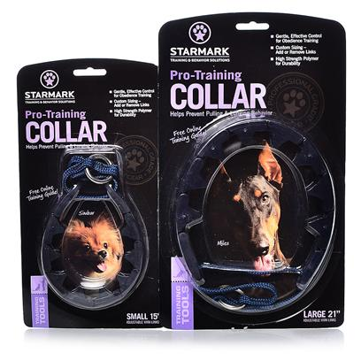 Triple Crown Presents Triple Crown Training Collar Tc Large. Small - also Available in Large Provides Gentle Effective Control in a Patented Humane Design. High Strength Link Design Fits Together in a Watchband Pattern. Links can be Added or Removed at any Point to Create the Perfect Fit. Training Guides and Video Lessons Available for Free Online at Www.Aboutdogtraining.Com [23004]