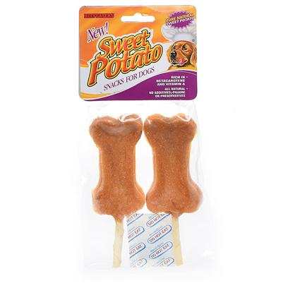 Beefeaters Presents Sweet Potato Lollipops 2pk Beef Lollipop. All-Natural, 100 Percent Pure Sweet Dehydrated Sweet Potato Makes an Irresistible Treat for any Lucky Dog. Rich in Vitamins, Iron, Calcium, Fiber and Beta Carotene. Your Dog'll Love the Sweet Taste. [23012]